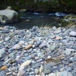 川の流れはどっち向き?