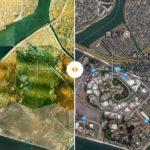 授業で使えるアプリ「昔の航空写真地図」