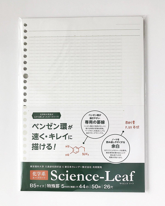 化学教師ならマストバイ「Science-Leaf」