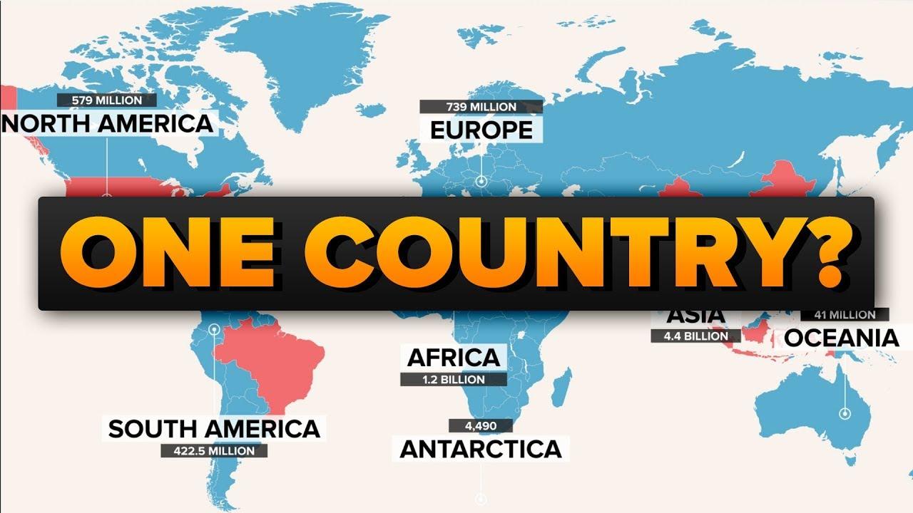 世界がもし一つの国だったら