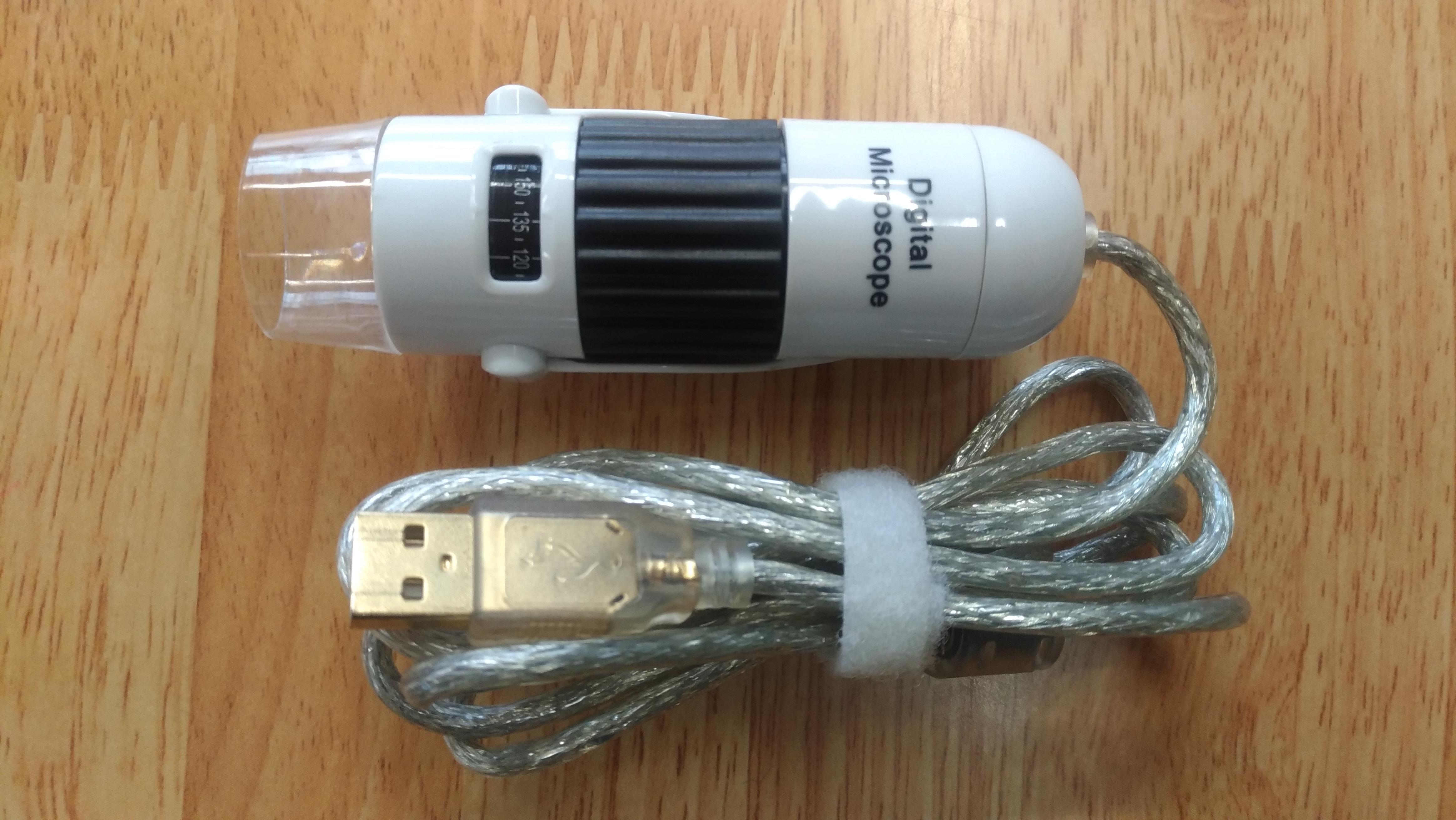 USBデジタルマイクロ顕微鏡「秀マイクロン」が便利
