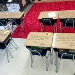 生徒の机に落書きした先生に賞賛の声!?