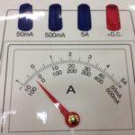 これでばっちり♩「電流計、電圧計の読み方教えマシーン」