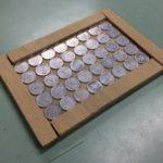 最密充填構造を一円玉で考える