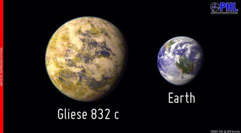 もうひとつの地球?第二の地球発見!