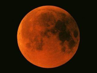 皆既月食 2014年10月8日