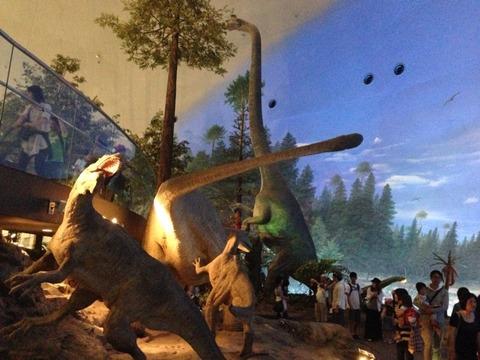 福井県立恐竜博物館に行ってきました。
