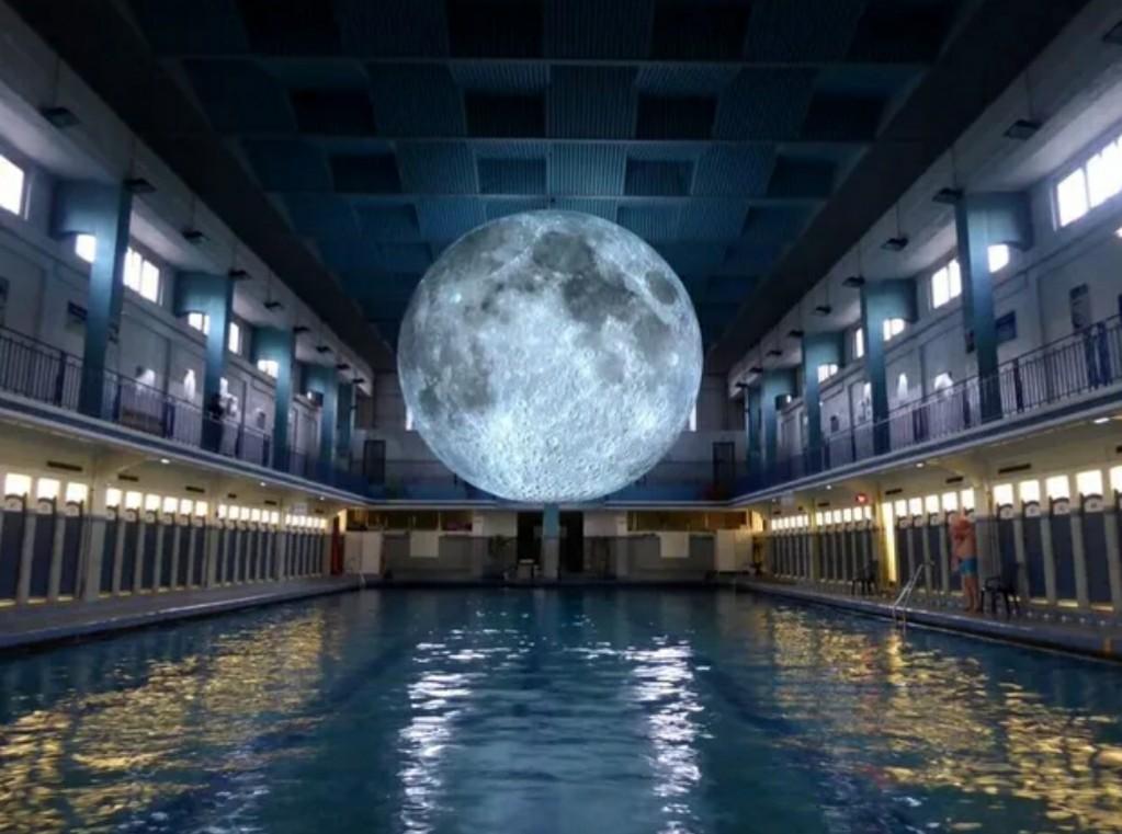月の芸術作品が美しい