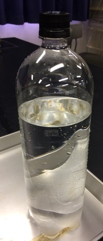 ペットボトルしょんべん小僧で気体の状態変化を学ぶ