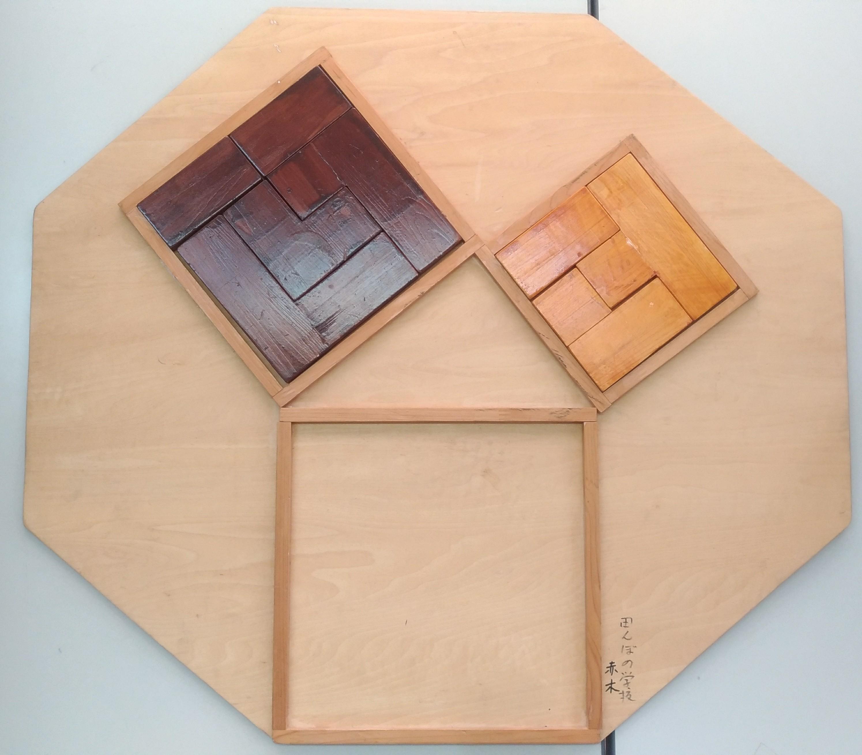 3平方の定理の証明を体感させる教具