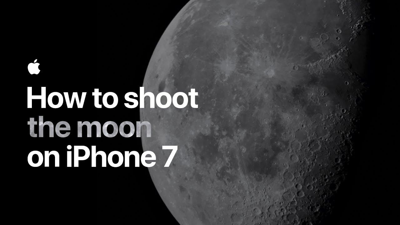 教師に見せたい動画「iphoneだけで綺麗に月を撮る方法」