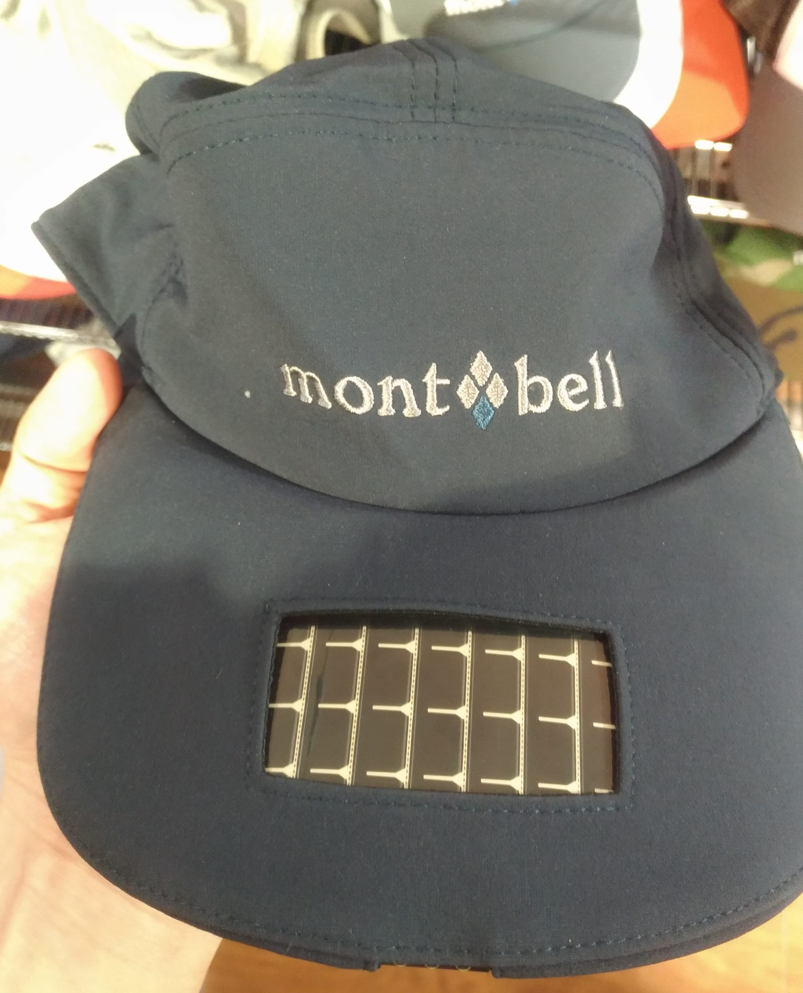 montbellのソーラーキャップがおもしろい