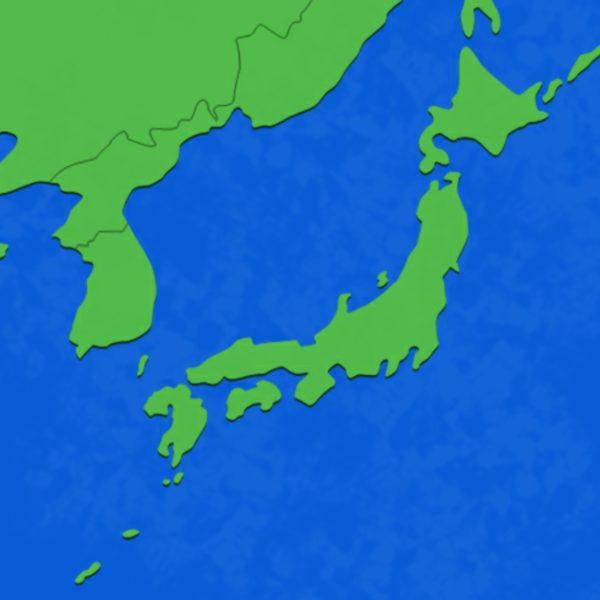 日本付近の気団