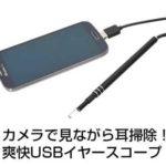 USB耳かきが授業で使えるかも!
