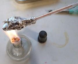 温度計の液とびを直す方法(※自己責任)