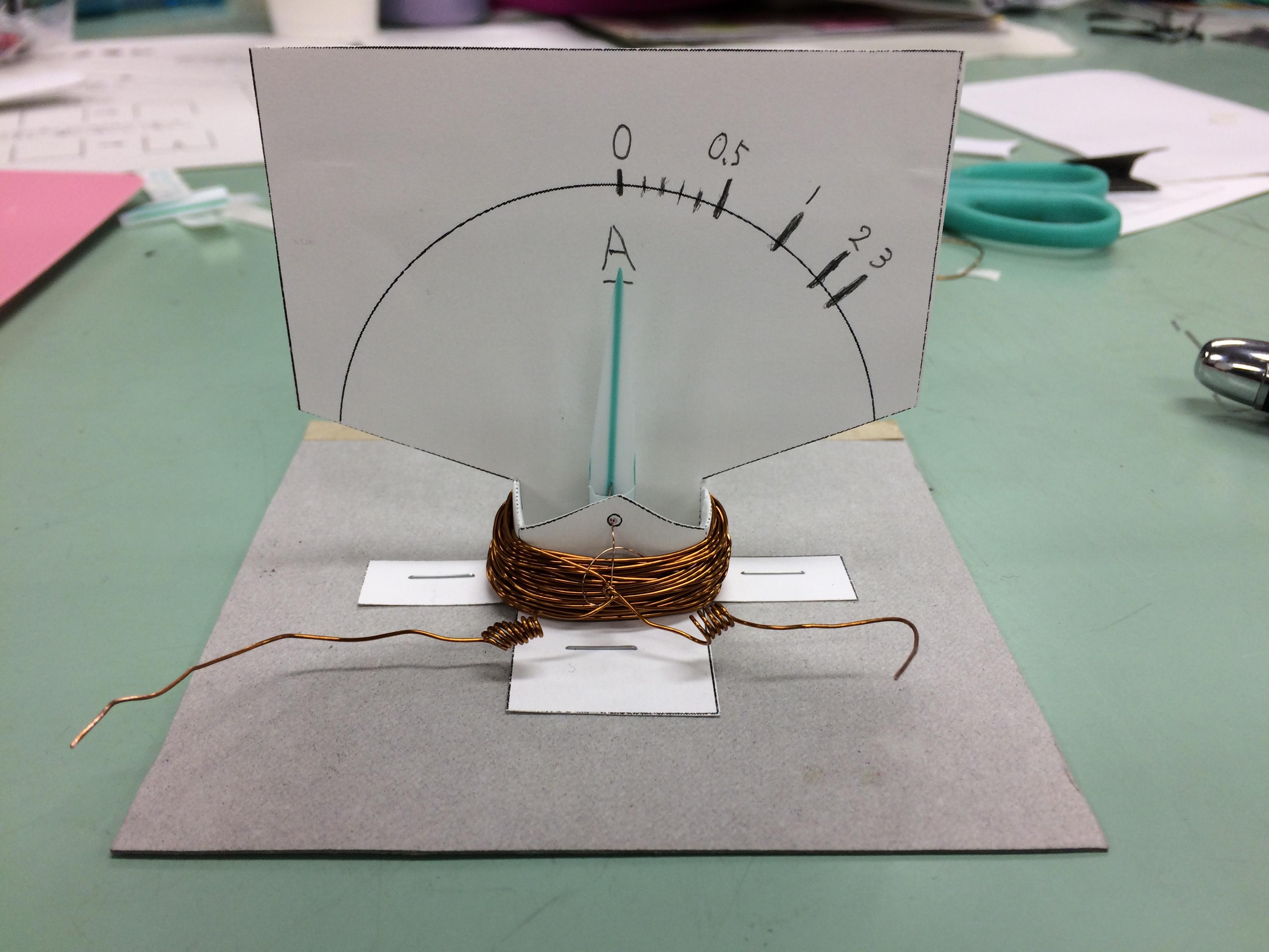 手作り電流計の作り方