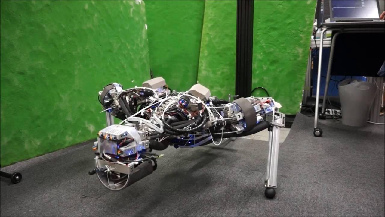 汗をかくロボット「ケンゴロウ」が面白い