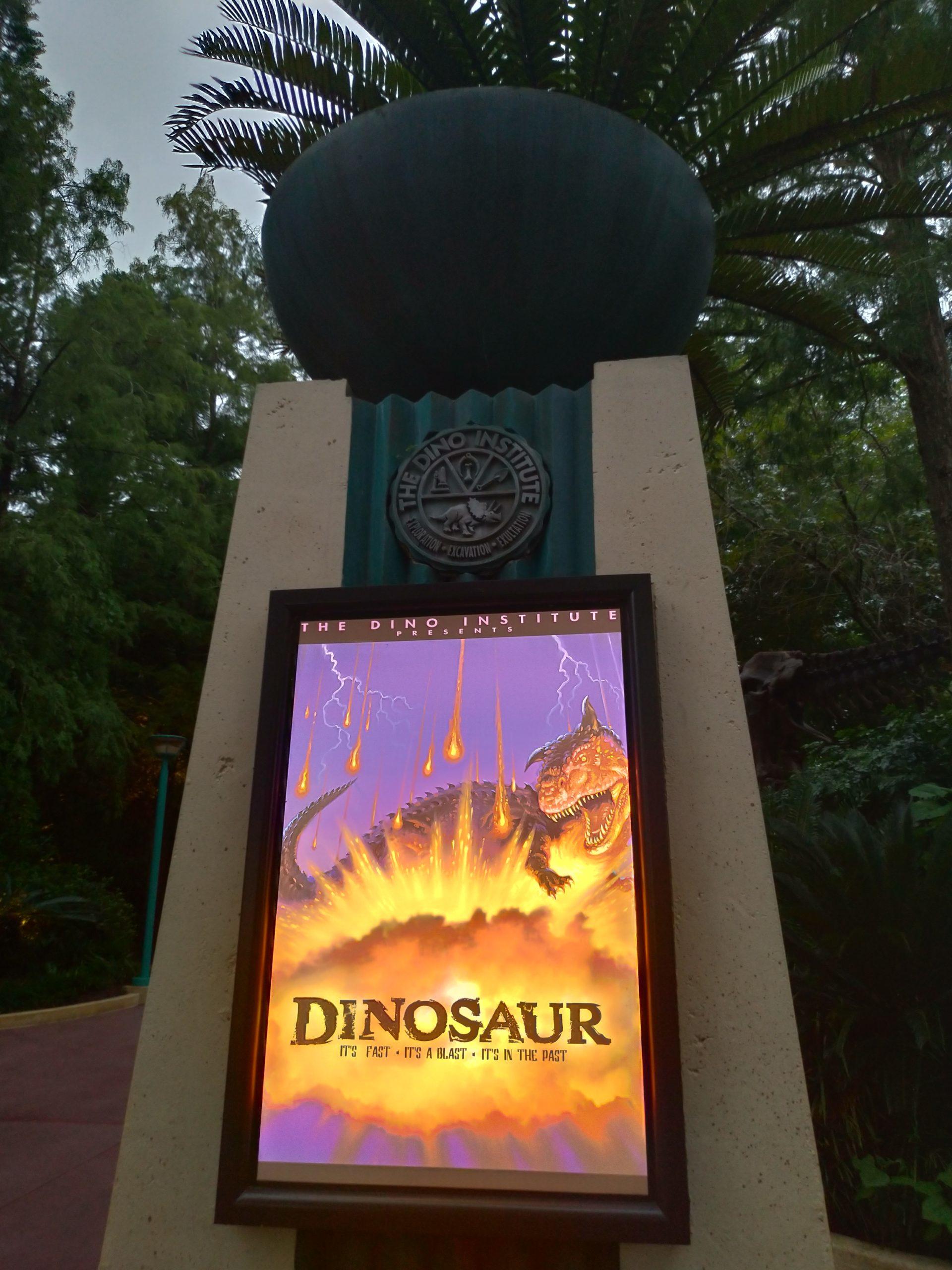 フロリダ、ディズニーワールドのDINOSAUR