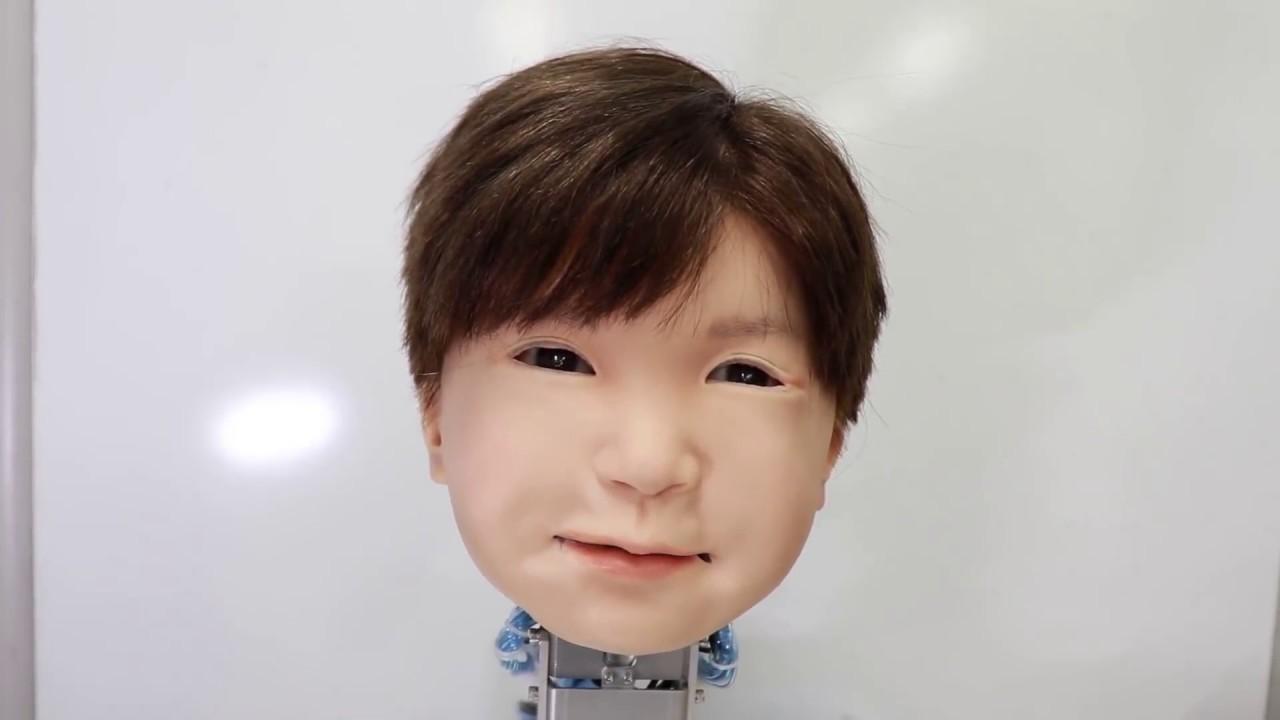 大阪大学が開発中の子ども型アンドロイド・ロボット「Affetto(アフェット)」が凄い!