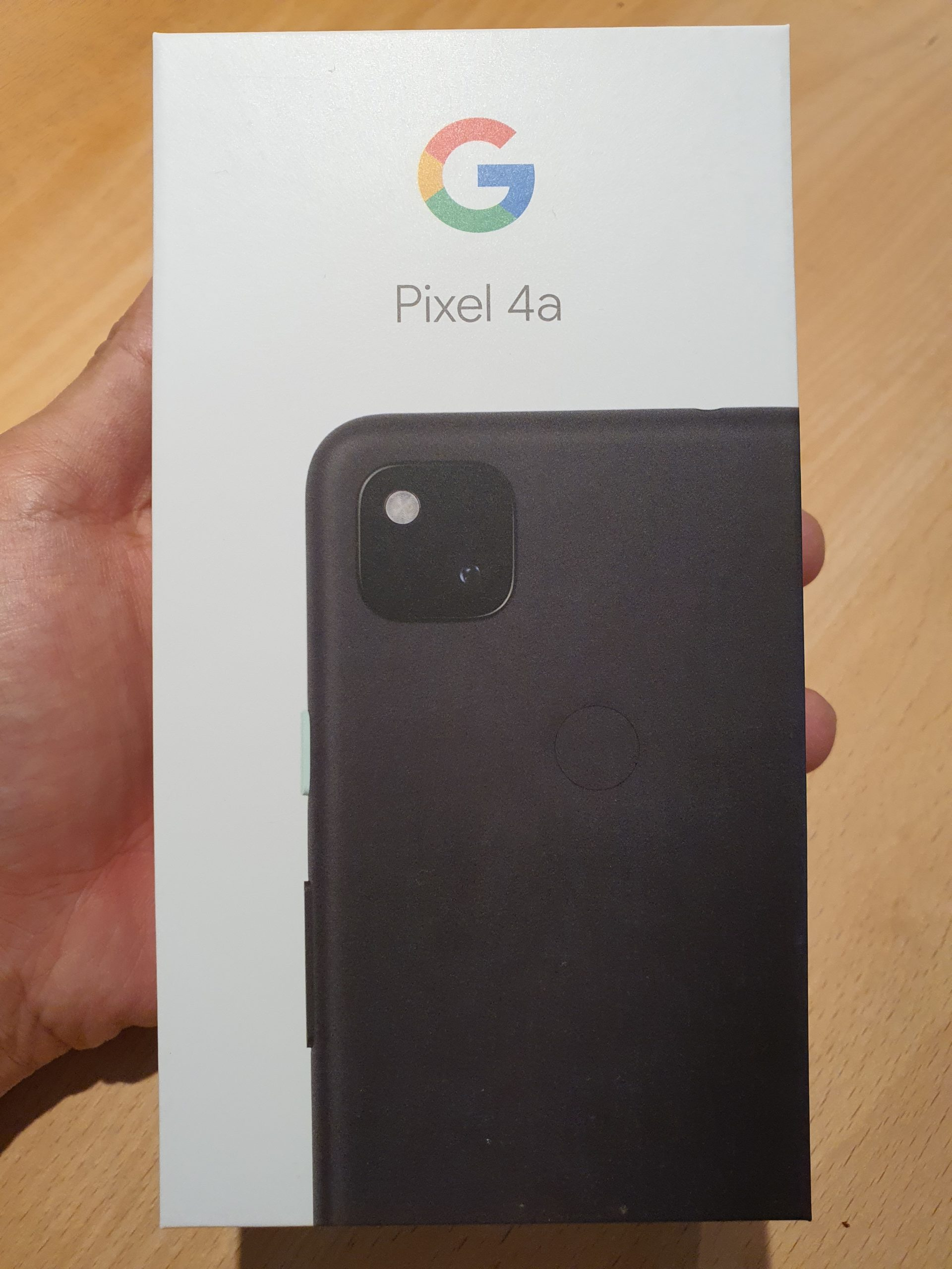 Google純正スマホpixel4aを買いました〜。