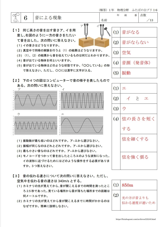 ふたばの白プリ1-6「音による現象」を公開しました。