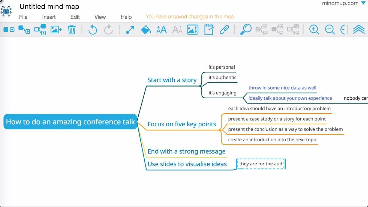 ブラウザでマインドマップがつくれる「MindMup」を授業で活用!