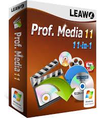 動画の編集ができる「Leawo Prof.Media」が便利♪