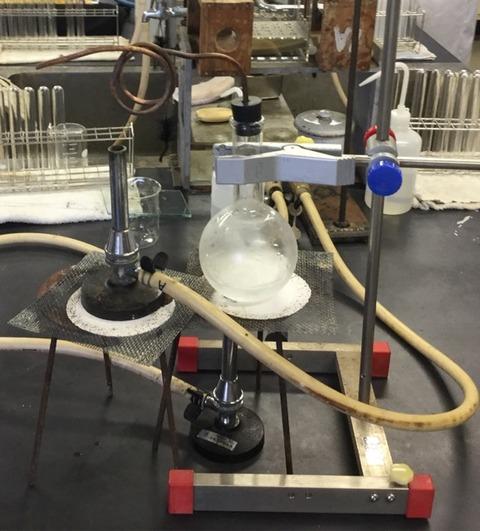 授業で見せたい動画64  水蒸気で火をつける