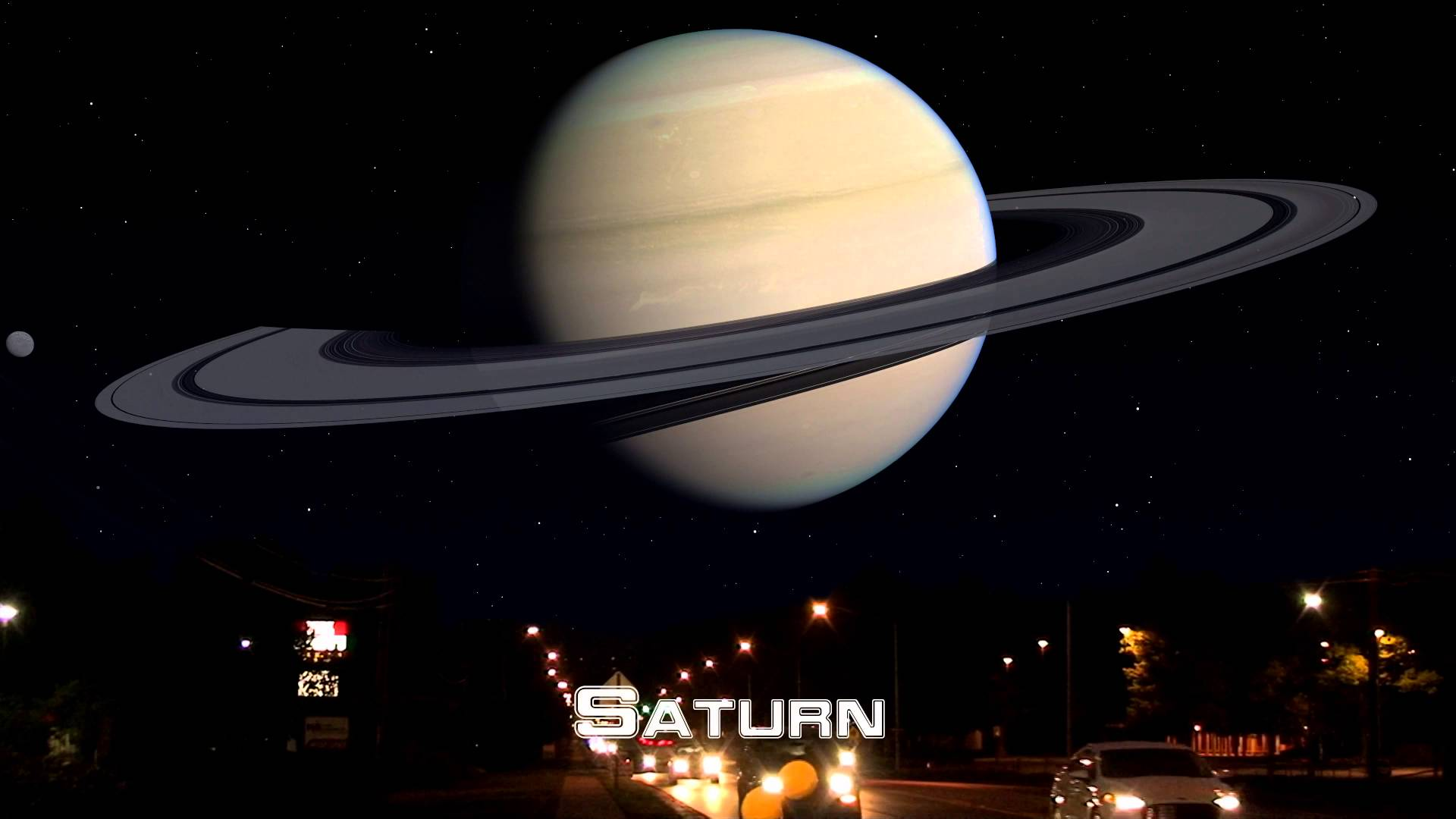授業で見せたい動画34「もしも月と同じ距離に他の惑星が位置していたら•••」