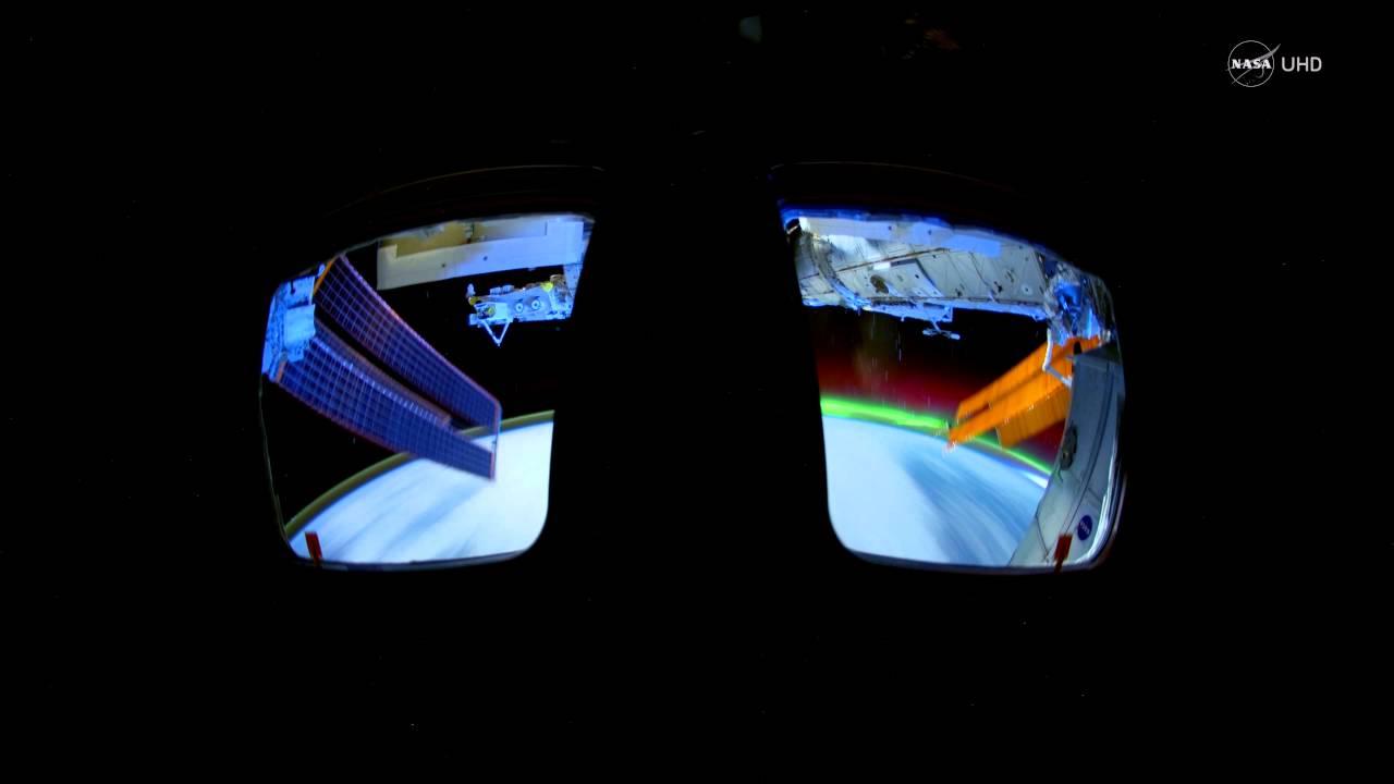 授業で見せたい動画49 国際宇宙ステーションからみた「オーロラ」4K(NASA)