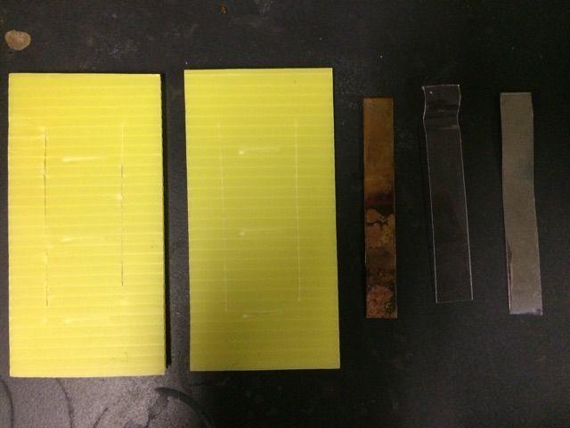 熱伝導率を調べる実験