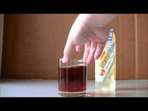 ヨウ素液にカルキ抜きを入れると色が消える?お手軽化学実験