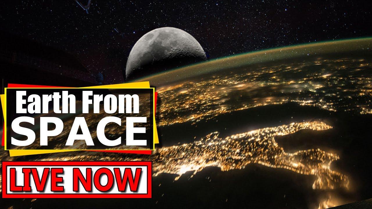 国際宇宙ステーションからのライブ映像がすごい