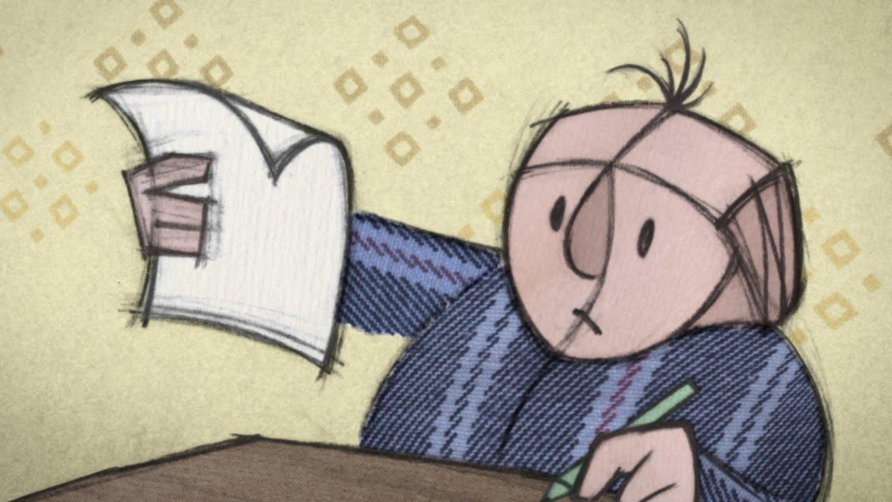 ADHDの特徴をとらえた短編アニメ「Falling Letters」