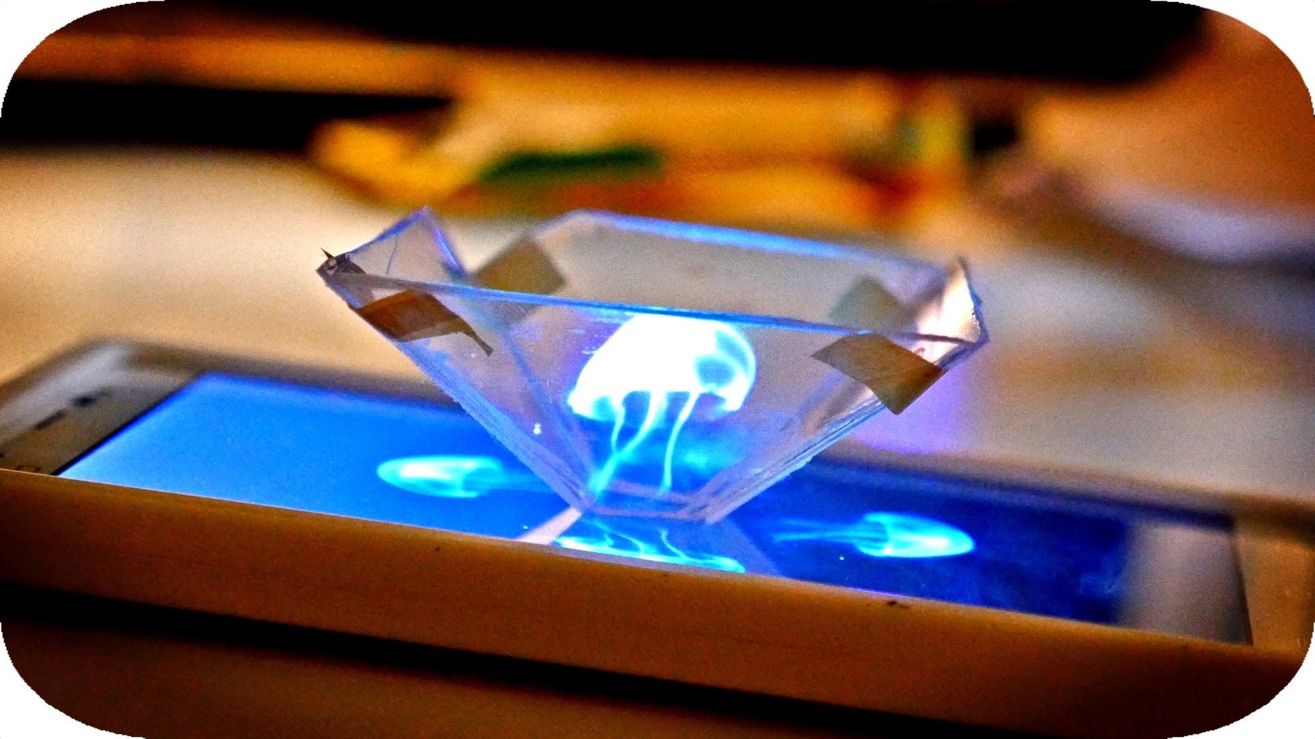 CDケースで3D映像を作る
