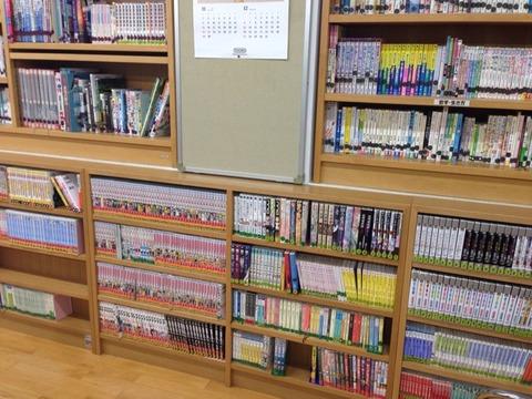 最近の学校の図書室