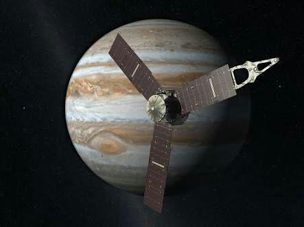 木星探査機ジュノーの軌道がmitakaで見れる!
