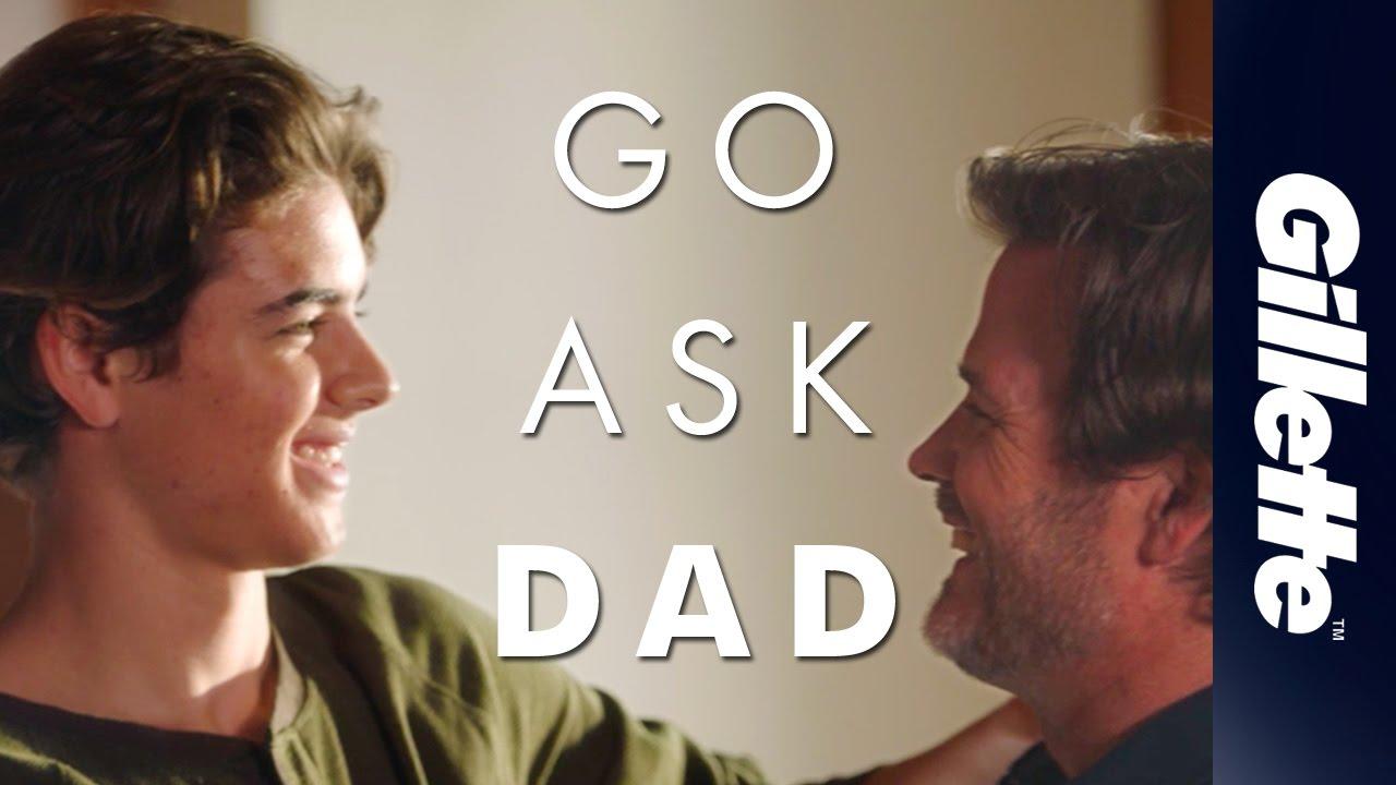 子どもに見せたい動画「GO ASK DAD(スマホよりお父さんに聞こう!)」